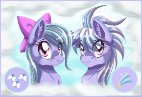 The Twins by InuHoshi-to-DarkPen