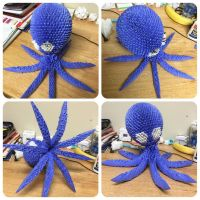 3D Origami Octopus by origami999
