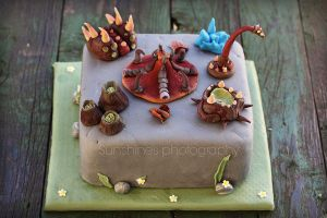 Starcraft 2 cake by kupenska