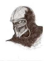 noob saibot by Under-AverageJoe