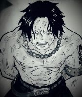 Portgas D. Ace - One piece by gabito852