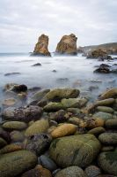 Garrapata Beach by StevenDavisPhoto