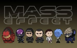 Mass Effect 1 - Wallpaper by criz