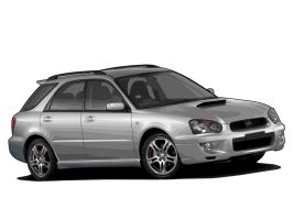 2004 Subaru Impreza Wagon by hydralore