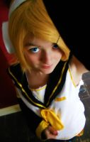 Vocaloid :: Rin Kagamine 1 by dawnleapord
