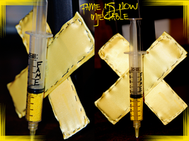 Fame Is Now Injectable. by cabaretamour