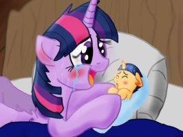we've had our little foal event horizon by FlashSentry13