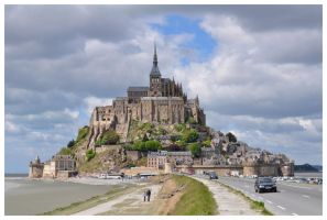 Mont-Saint-Michel by 4mason