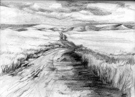 Going Into The Storm sketch by anubistj