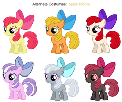 FiM skins: Apple Bloom by Pika-Robo
