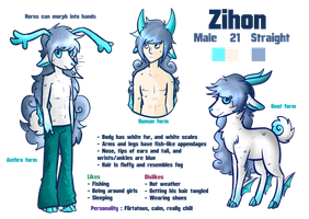 Zihon reference sheet by Skoryx