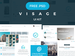 Visage UI Kit | FREE | 70+ Elements by DragosBubu