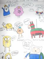 Adventure Time Sketch Dump by Lady-of-Ratatosk
