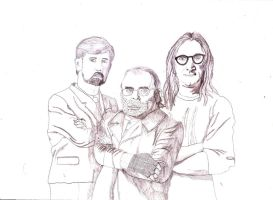 The Lone Gunmen by iamtherealbender