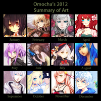 2012 Art Summary by ZenithOmocha
