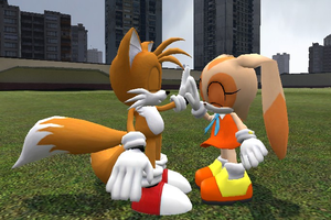 Gmod: Taiream High five by Caz939