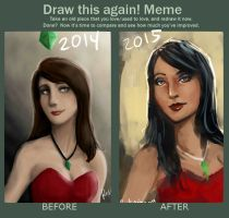Before and After: Bella Goth by oshirockingham
