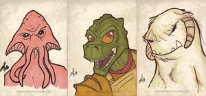 Star Wars Commissions by scottzirkel