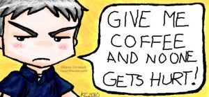 NCIS - Gibbs and Coffee by ryuuri
