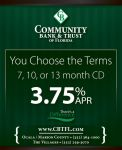 Community bank and trust ad by kwant