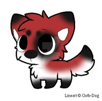Chibi canine adopt OPEN by TranquilityBlue