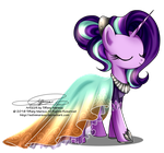 Gala Fashion 2016 - Starlight Glimmer by selinmarsou