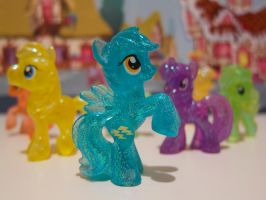 Pretty Pastel Plastic Ponies by purpletinker