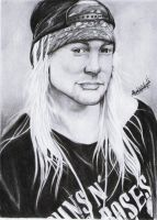 Axl Rose by never1233
