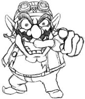 Wario by pluckylump