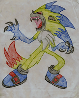 Gameboy's demon form by Xbox-DS-Gameboy