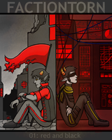 factiontorn: red and black by quixocalypse