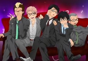 The Boys (Ao No Exorcist) Recolor by ApplePop410