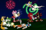 Sonic - Happy 4th Of July by WhiteRaven4