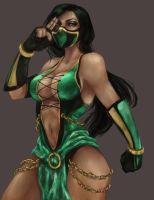 Jade Mortal Kombat by DrearyBurn