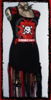 Combichrist tatter top by annaladymoon