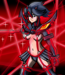 Kill la Kill: Ryuko by Gallrith