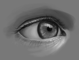 An Eye by Martut