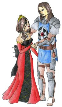 Empress Chaos and First Knight Loran #2 by Doofus-the-Cool