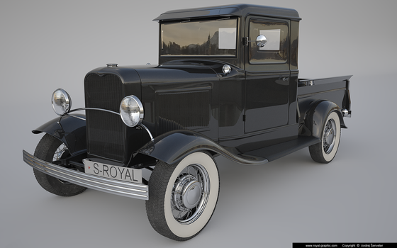 Ford Pick up 1932 by slographic