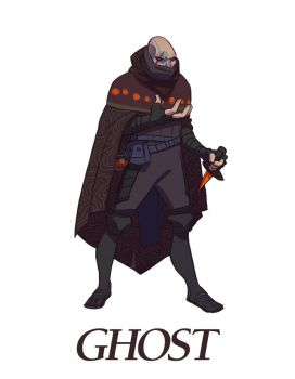 Quest For Destiny - Ghost Character by nonamex7