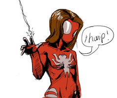 Ultimate Spider-Girl by Tourbillon-da