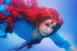 Ponyo: Goddess of the Sea by Yiji