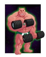 Kilowog - Mr. Science by FantasyFlixArt