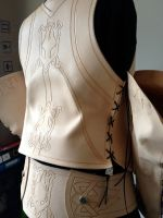 Miquo'te FFXIV Jacket details- WIP by AltriaCosplay