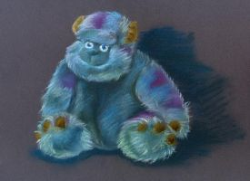 Sulley Sullivan by jkBunny