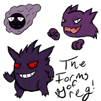 The Forms of Greg by Taryndedoo