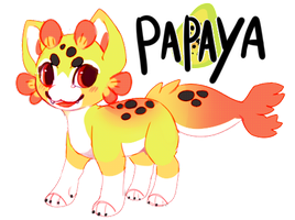 MYO nekoi: PAPAYA by Pand-ASS