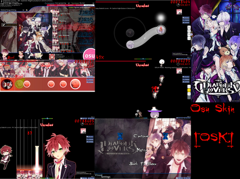 Diabolik Lovers Osu! Skin [OSK] by Allen-WalkerDGrayMan
