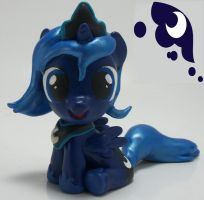 Princess Luna Filly head turner sculpture by MadPonyScientist