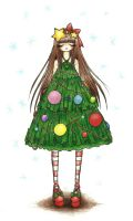 Christmas Tree by sweet-kaori